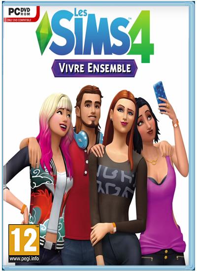 Les Sims 4 Vivre Ensemble Telecharger