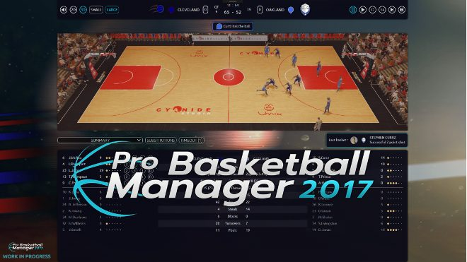 Pro Basketball Manager 2017 Telecharger