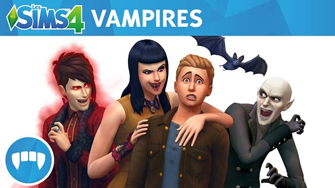 Les Sims 4 Vampires Telecharger