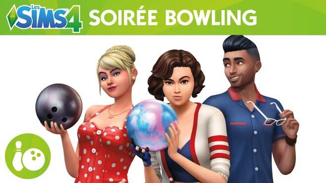 les sims 4 soire bowling telecharger kit dobjets gratuit