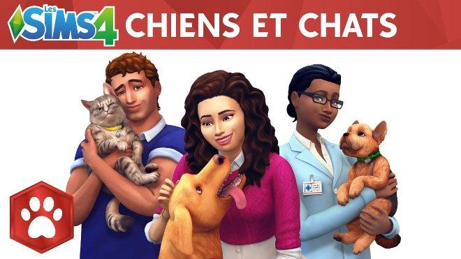Les Sims 4 Chiens et Chats Telecharger