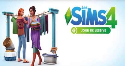 Les Sims 4 Jour De Lessive Telecharger