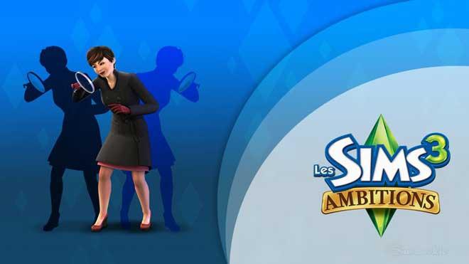 TelechargerLes Sims 3 Ambitions Gratuit