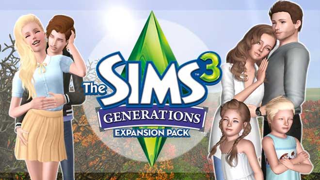 Les Sims 3 Générations Telecharger