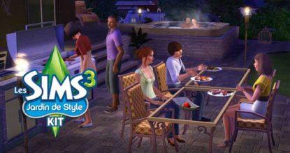 Les Sims 3 Jardin de style Telecharger
