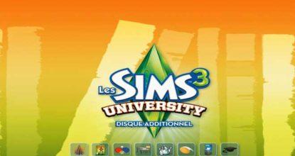Les Sims 3 University Telecharger