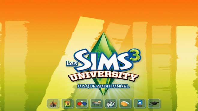 Les Sims 3 University Telecharger