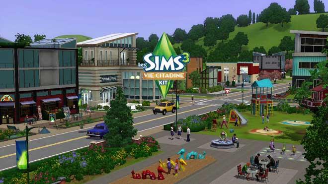 Les Sims 3 Vie Citadine Telecharger