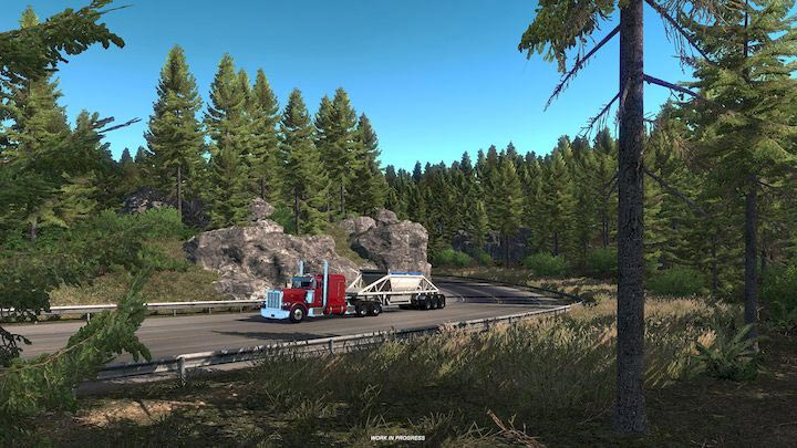 American Truck Simulator Oregon Telecharger