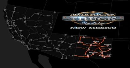 American Truck Simulator New Mexico Telecharger
