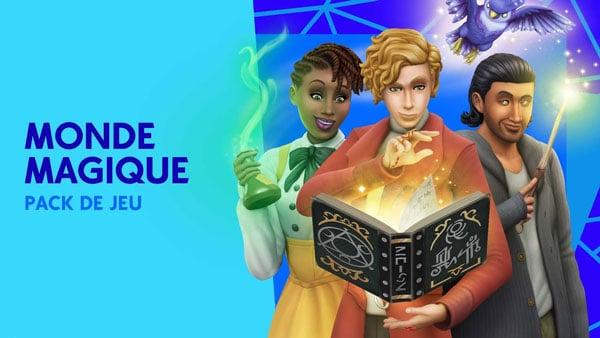 Les Sims 4 Monde Magique Télécharger