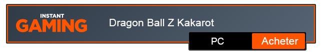 Dragon Ball Z Kakarot Télécharger