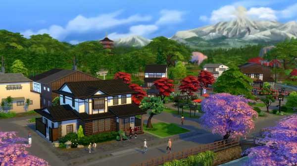Les Sims 4 Escapade Enneigée Télécharger