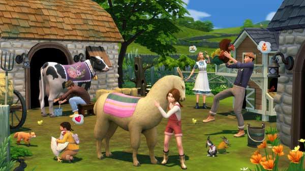 Les Sims 4 Vie à la campagne gratuit
